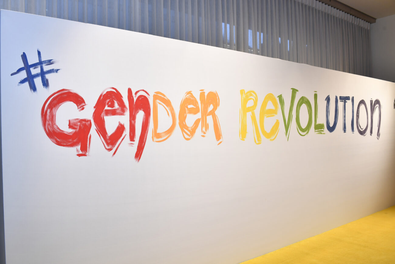 step and repeat for gender revolution premiere
