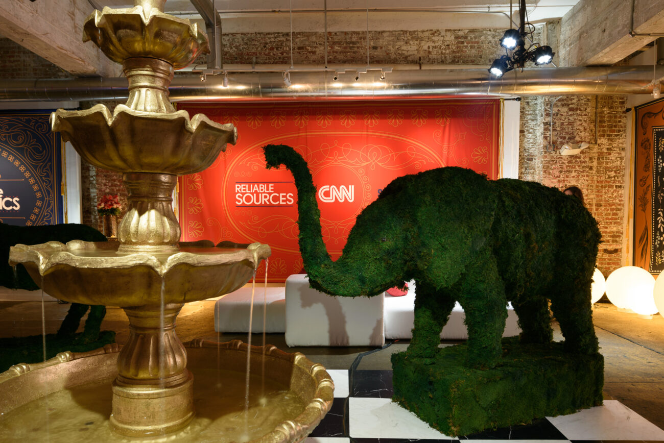 CNN event for white house correspondent's dinner events