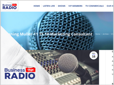 Marketing tips from experts on business talk radio